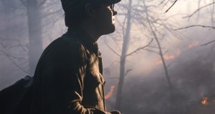 Young Lon Lemmon at prescribed fire