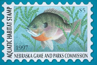 Aquatic Habitat Stamp